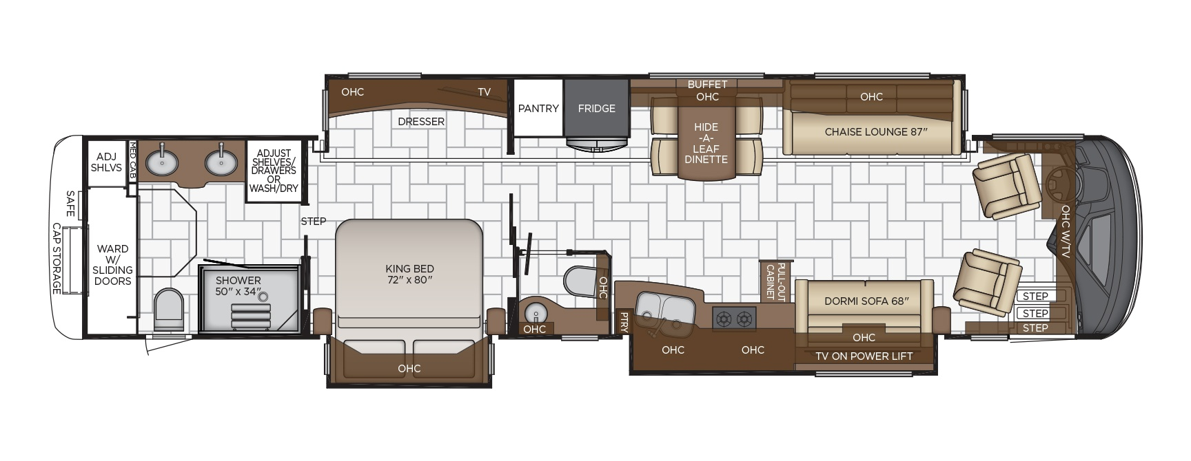 Mountain Aire Floor Plan Options Newmar