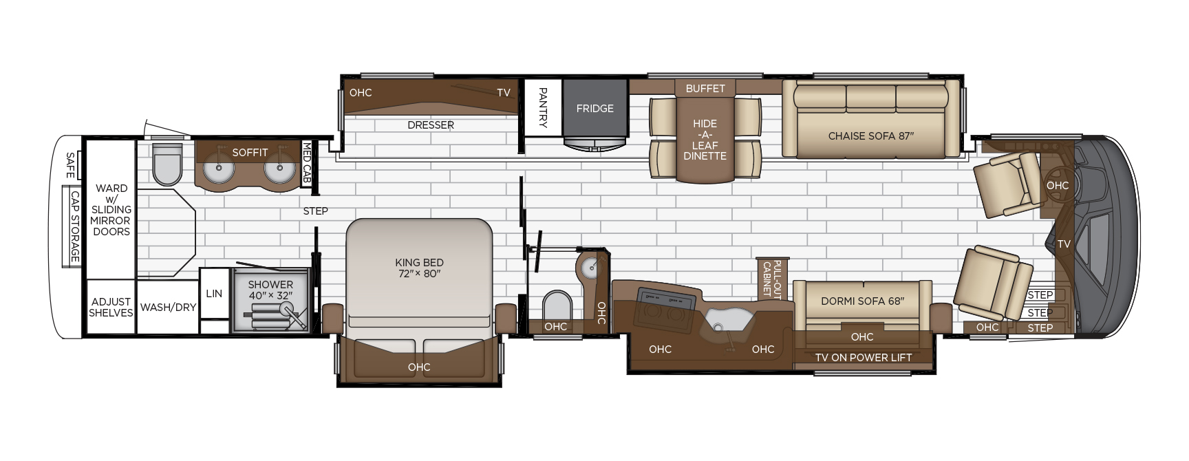 Es floor plan options | Newmar on rustic bunkhouse plans, large bunkhouse plans, park model plans, rv houses inside, camper plans, rv floor plan of s, rv floor plan for 20, kingsley coach plans, type a school bus conversion plans,